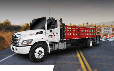 Highway Construction Pattern Trucks Cone Trucks For Sale